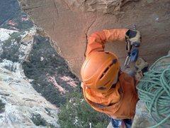 Rock Climbing Photo: J.Snyder on White Lightning