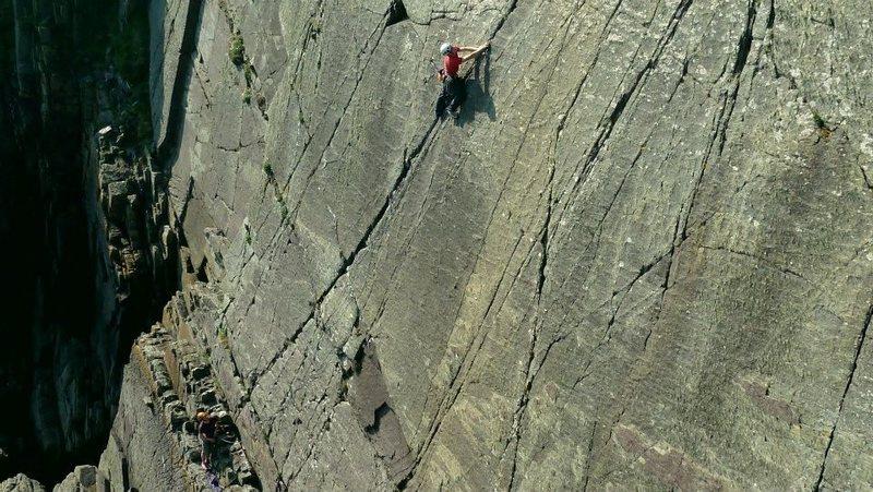 Rock Climbing Photo: Ethos, Craig y Barcud