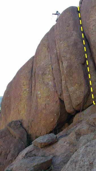 Rock Climbing Photo: The pair of ropes on the right are on Nasty Habits...