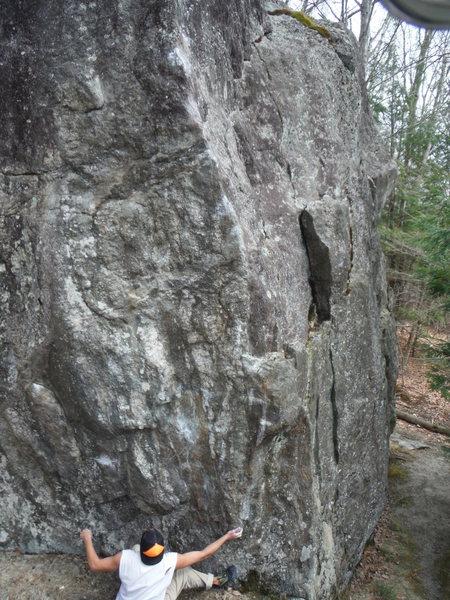 Rock Climbing Photo: Zach Harris trying out the Garnet Snatcher