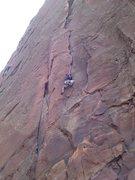 Rock Climbing Photo: Bastille Crack Pitch 1
