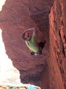 Rock Climbing Photo: The Panty Wall. Red Rock NV