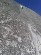 Rock Climbing Photo: Hammer Dome, Gemini Crack, P3