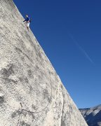 Rock Climbing Photo: Yosemite, North Dome, Crest Jewel, P1