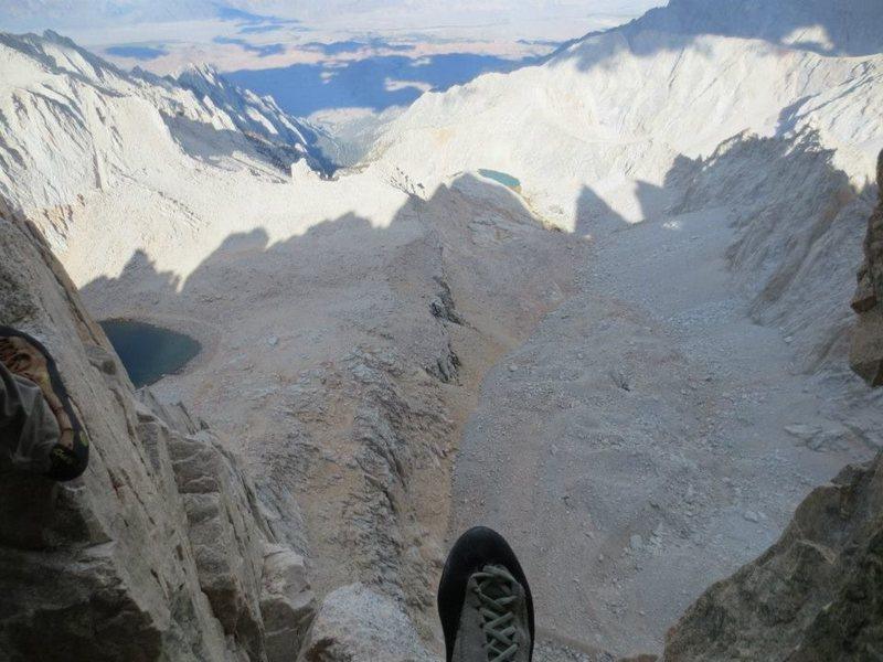Rock Climbing Photo: Sierra Nevada, Mt Whitney, East Face
