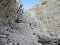 Rock Climbing Photo: Sierra Nevada, Mt Whitney, Grand Staircase Pitch