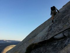 Rock Climbing Photo: Yosemite, Half Dome, Snake Dike