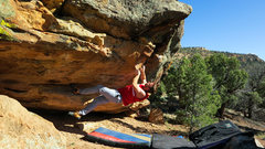 Rock Climbing Photo: Hold that left foot and all will go well. I'd bet ...
