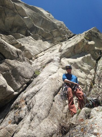 Rock Climbing Photo: The goodness rising above me