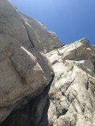 Rock Climbing Photo: Nothing says Romance like the V-Crack!!