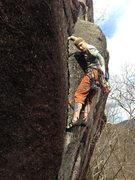 Rock Climbing Photo: Starting up the perfect flake (photo: torie kidd
