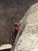 Rock Climbing Photo: my dad picking his way through some spectacular lo...