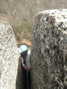 Rock Climbing Photo: from the inside