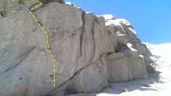 Rock Climbing Photo: Wandering flakes of Premature