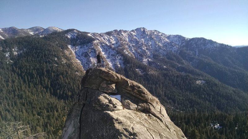Rock Climbing Photo: SEKI