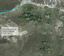 Rock Climbing Photo: Boulder locations (South Boulders).