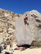 Rock Climbing Photo: John Randall, onsight of Jedi Mind Tricks