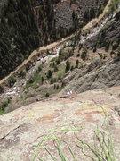 Rock Climbing Photo: The top.