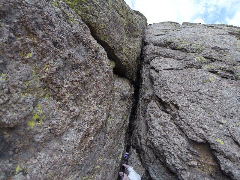Rock Climbing Photo: el cracko diablo