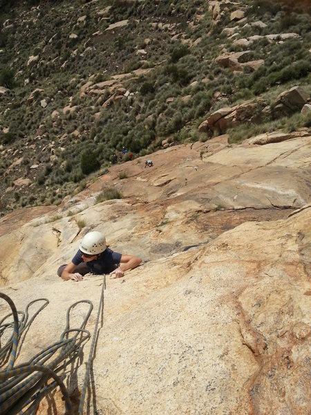 Rock Climbing Photo: el cajon mtn