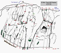Rock Climbing Photo: El Rito Trad overview from Gary Clark's PDF guide ...