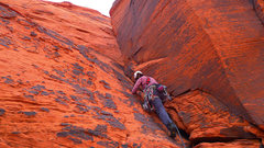 Rock Climbing Photo: Cover My Buttress, fun little trad route at Panty ...