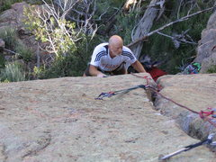 Rock Climbing Photo: You better take lots of gear. It is not just a spo...