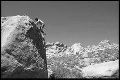 Rock Climbing Photo: dad running up a fun moderate