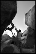 Rock Climbing Photo: another guy i met at the boulders...