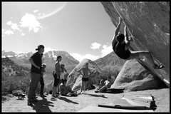 Rock Climbing Photo: a sweet iron session