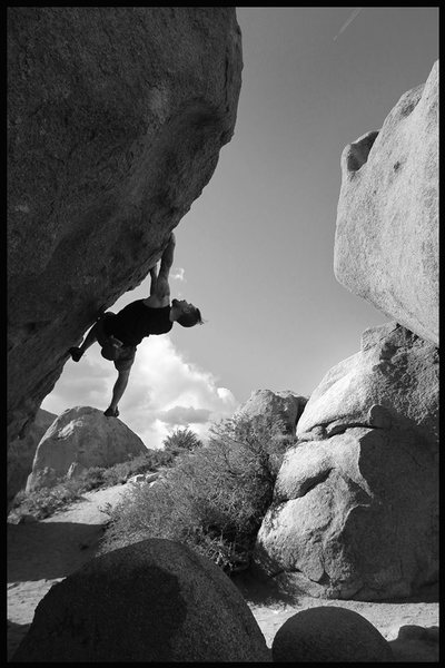 Rock Climbing Photo: running a lap on the hero :) good fun!