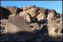 Rock Climbing Photo: dad finishing the trail