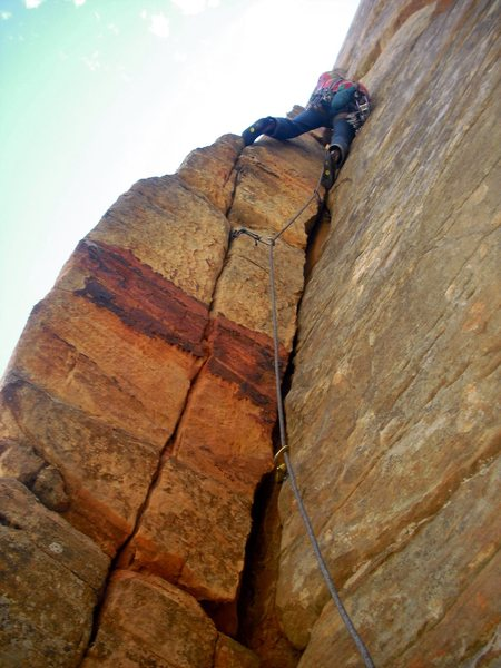 Rock Climbing Photo: Start of P3