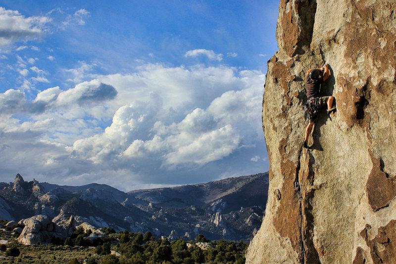 Rock Climbing Photo: E Ave