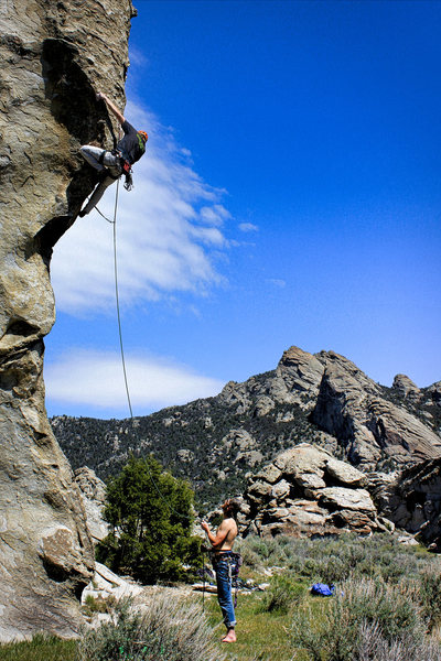 Rock Climbing Photo: The Mechanic