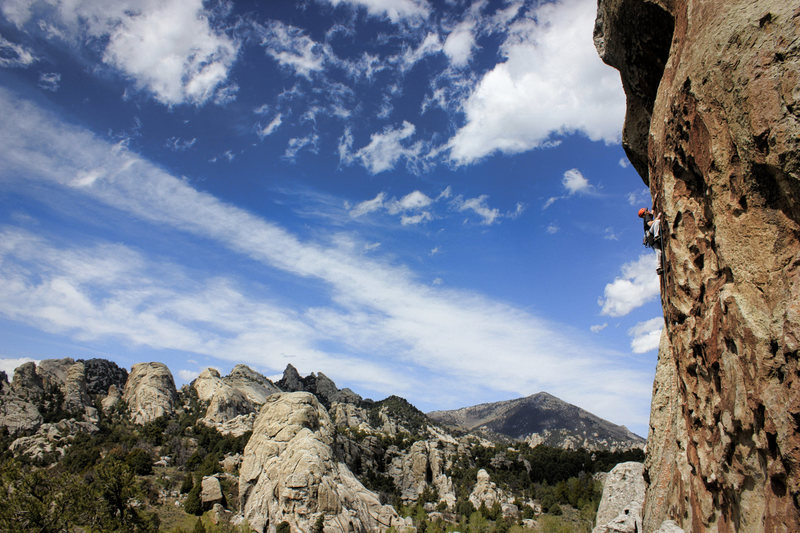 Rock Climbing Photo: Firewater.. thought we were warming up on tribal b...