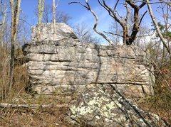 Rock Climbing Photo: Ridge Boulders Area: What I'm pretty sure is the l...