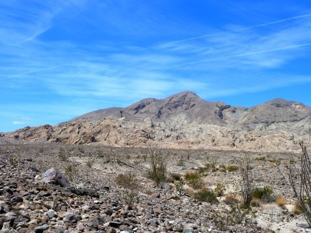 Truckhaven Rocks from S-22, Anza Borrego SP
