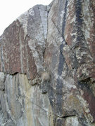 Rock Climbing Photo: Big Down Under dihedral