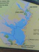 Rock Climbing Photo: Elk City Lake Map
