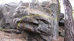 Rock Climbing Photo: Tear drop