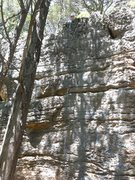 Rock Climbing Photo: Rope on the line of Elk City Sidepull.