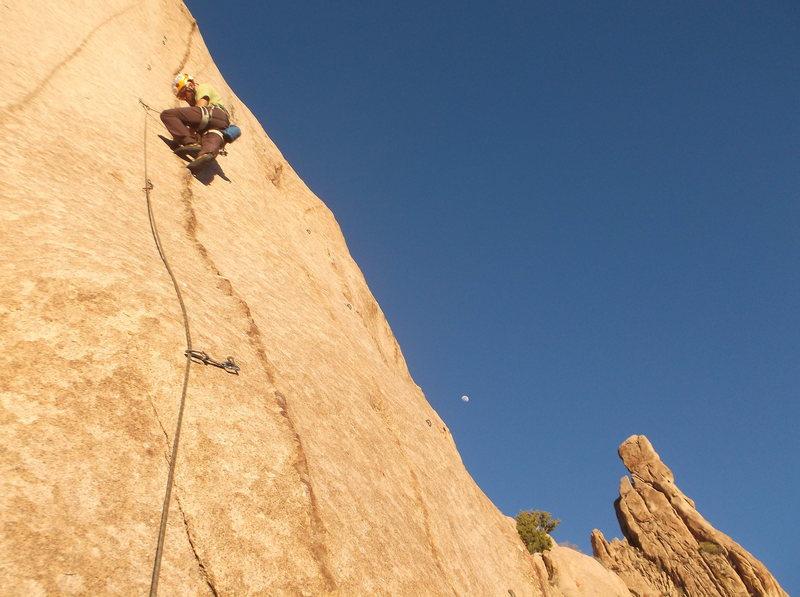 Rock Climbing Photo: Beautiful setting, excellent rock, perfect evening...