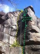 Rock Climbing Photo: Jadis 5.10c