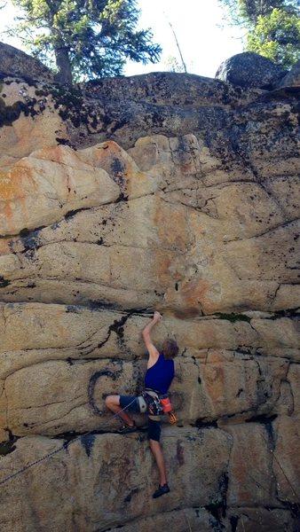 Rock Climbing Photo: Little rest!
