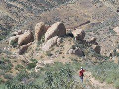 Rock Climbing Photo: Hoodoo Canyon