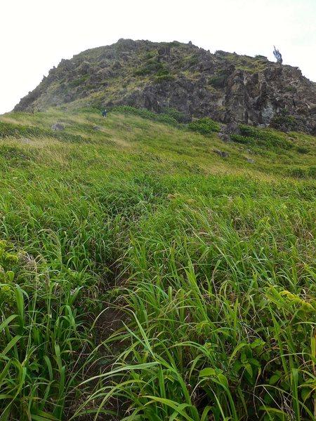 The trail to Kahakuloa Head.