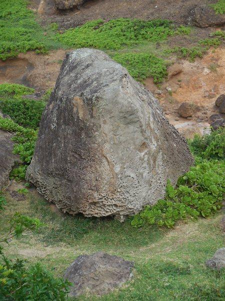 The Rummikube, at Kahakuloa Head.