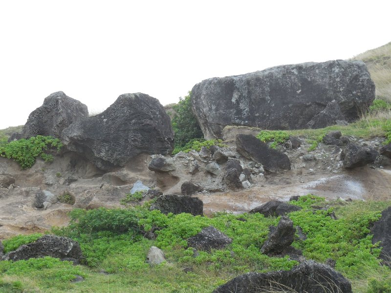 Rock Climbing Photo: Boulders at Kahakuloa Head.