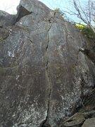 Rock Climbing Photo: THE handcrack of Vermont.
